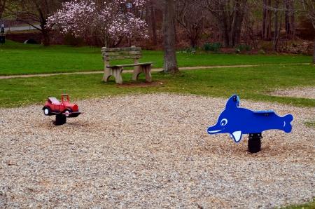 playground rides: Playground rides Stock Photo