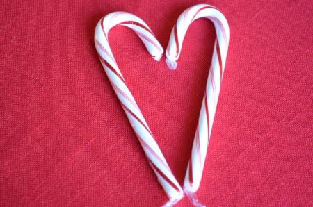 Azúcar de caña corazón Foto de archivo - 24915882