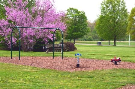 playground rides: Playground Stock Photo