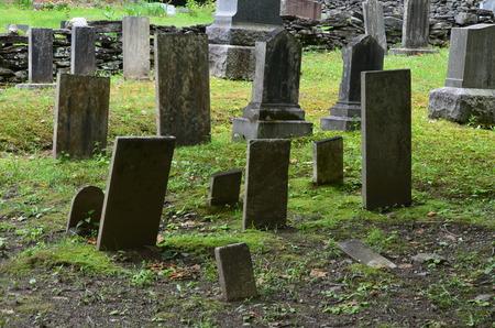 Oude begraafplaats in Vermont