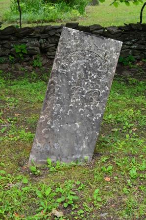 Begraafplaats steen marker
