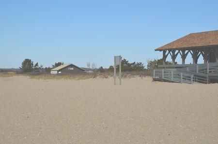 Buildings at the seashore Stock fotó