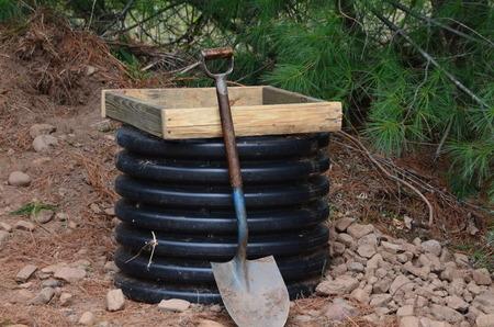 A top soil screener