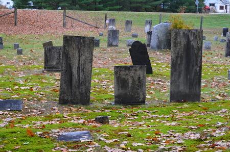 De Taft-begraafplaats in Vermont in de herfst van 2014