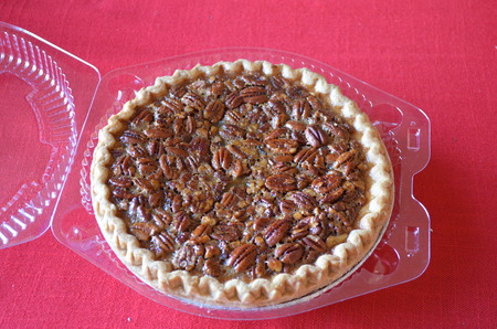 Walnut pie Stock Photo