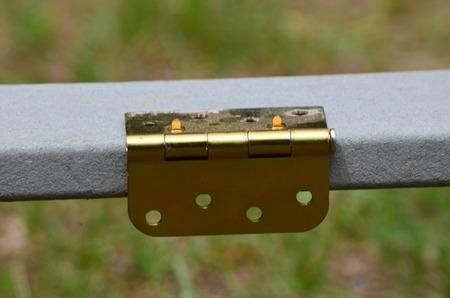 Brass hindge