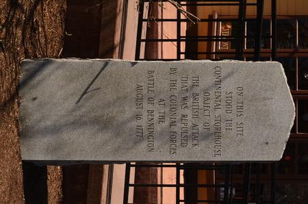 Civil war memorial in Vermont