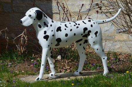 A statue of a Dalmatian