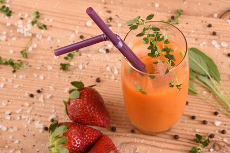 Juice with Flexi Straw