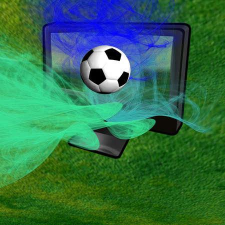 convey: lawn-tv-ball