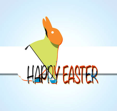 paschal: happy easter Stock Photo