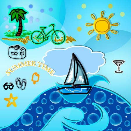 bike cover: beach vacation