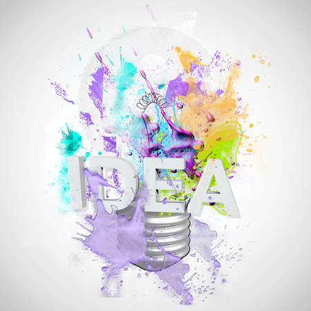 comunicación escrita: bombilla de la IDEA