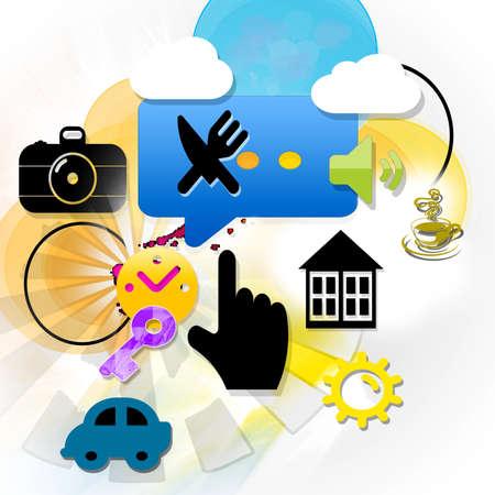 symbols: Communication - symbols