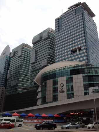 kl: This is a heartbeat of kl city where the main transportation hub and business center meets.