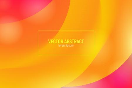 Wellenflussform. Abstrakter 3d Hintergrund. Moderne bunte Flüssigkeit. Vektor-Illustration Eps10. Trendy Abstract Fluid Design für Musikplakat, Broschüre, Layout. Abstrakte Wellenabdeckung mit lebendigem Farbverlauf.
