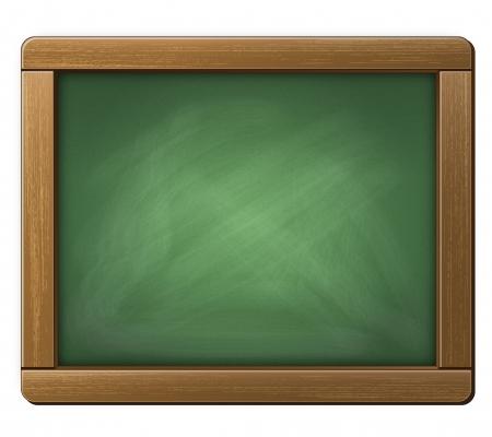 Illustration of a Chalkboard Tablet Stock Illustration - 15968430
