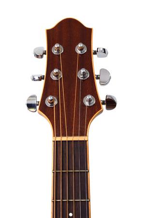 guitarra: cabezal de la guitarra