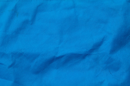 soft textile: blue textile surface