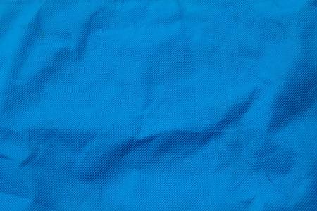 textil: superficie textil azul