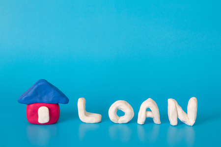 housing loan: Home loan housing investment concept Stock Photo