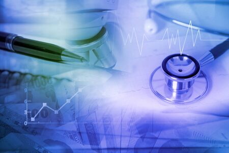 healthcare and medical insurance business concept Standard-Bild