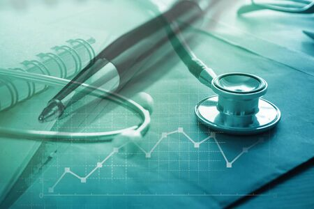 Medical and healthcare insurance concept 免版税图像 - 150294512