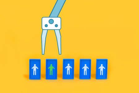 Job recruitment and Job Interview Concept 写真素材