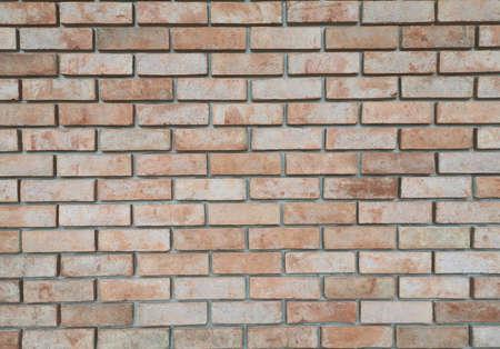 red bricks wall background texture