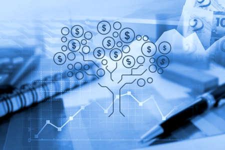 Growing money in business activity