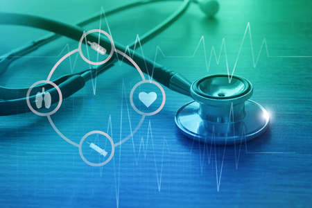 Medical examination and healthcare service concept 写真素材