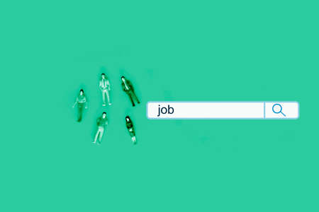 job recruitment and hiring concept