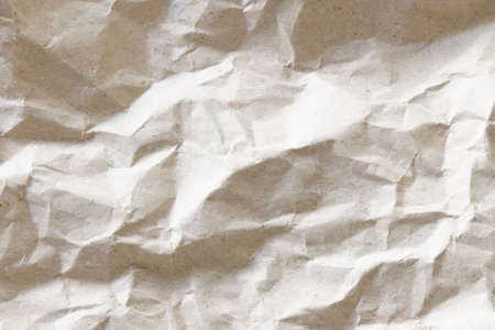 crumpled paper texture and background