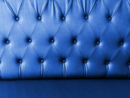 grunge texture of sofa surface processed with blue color