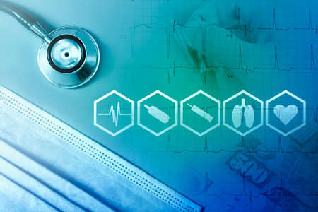 Medical innovation and healthcare service concept