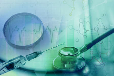 healthcare service, medical data transformation for analytics 免版税图像