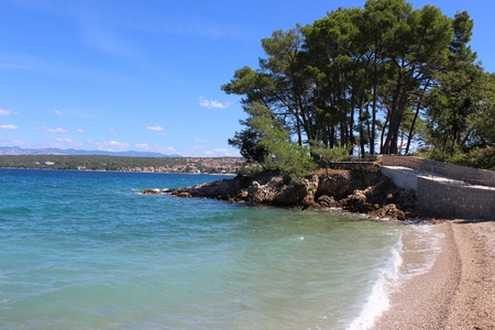 Beach in Malinska - Croatia