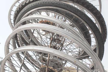 spokes: Old bicycle spokes