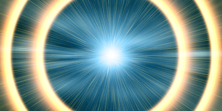 hyperspace: Abstract image of the speed space jump