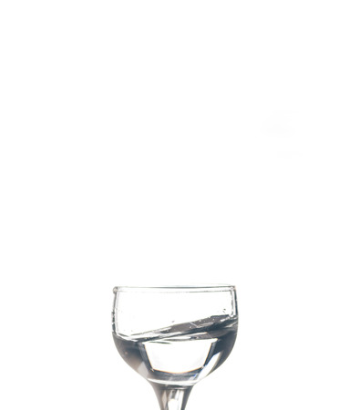 Glass with water on the white isolated background Imagens - 86794930