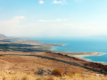 Meditation on the beauty of the Dead Sea from the height of the Judean Mountains.