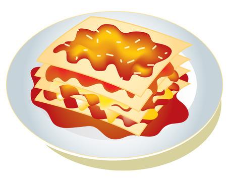 lasagna: pasta lasagna