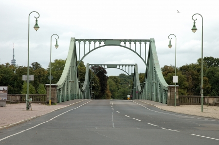 Glienicker bridge between Potsdam and Berlin in Germany photo