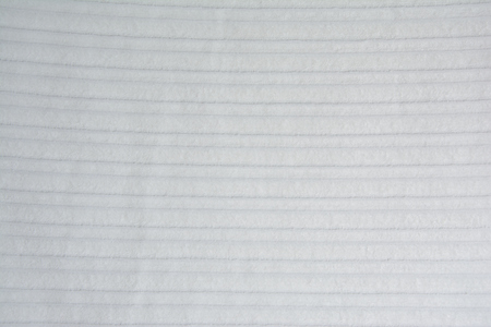 quilted: White quilted blanket fabric - closeup, background