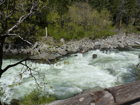 Rushing mountain river Stock fotó - 93389880