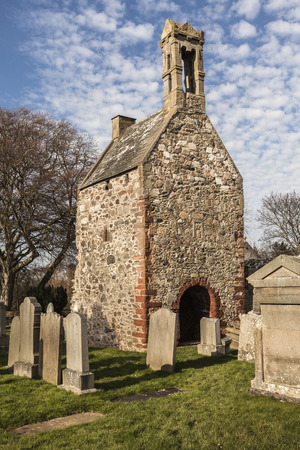 Historic Chapel at Fordyce in Aberdeenshire, Scotland.