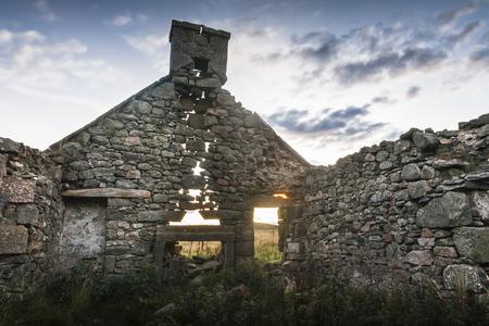 craig: Derelict Croft in the Cabrach area of Scotland.