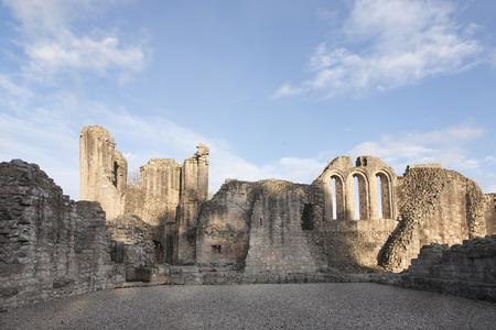 Ruins of Kildrummy Castle in Aberdeenshire, Scotland.