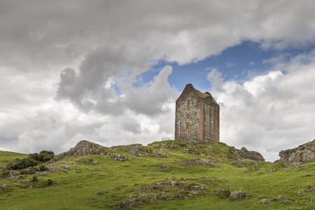 Smailholm Tower in the Scottish Borders.