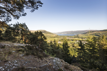 Site of Ancient Pictish Hillfort at Craigmony in Inverness-shire,Scotland